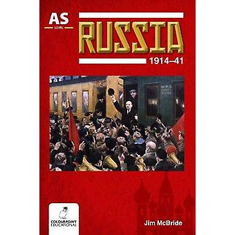 Russia 1914-41 for CCEA AS Level by Jim McBride - 9781780731223 Book