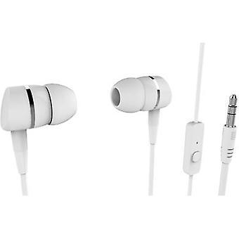 Vivanco SMARTSOUND WHITE Hi-Fi In-ear headphones In-ear White