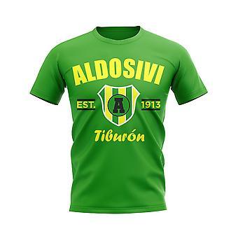 Aldosivi Perustettu Jalkapallo T-paita (Vihreä)
