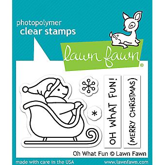 Lawn Fawn Oh What Fun Clear Stamps
