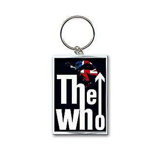 The Who Keyring Keychain Leap band Logo new Official metal