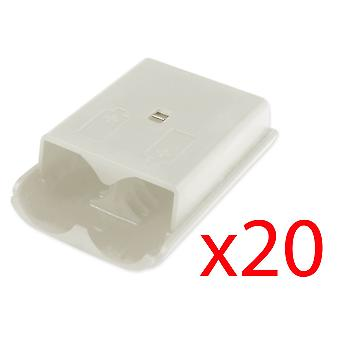 20x Xbox 360 Wireless Controller White Battery Cover Pack Shell