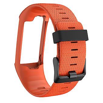 Bracelet for Polar A360/A370 silicone - orange