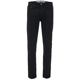 Men's Weekend Offender Tapered Fit Jeans in Black