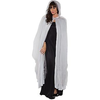 Grey Ghost Cape Long Adult