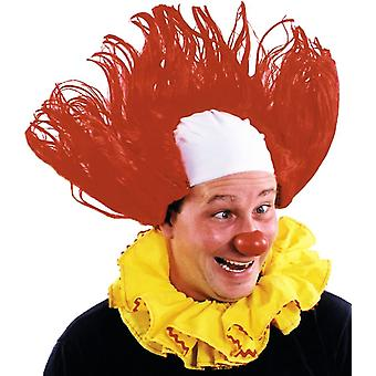 Funny Clown Wig Red
