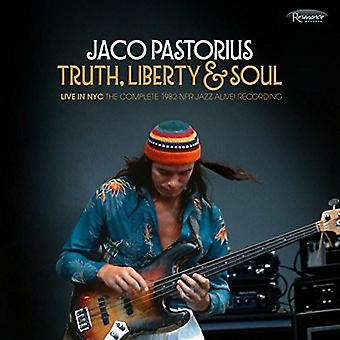 Jaco Pastorius - Truth;Liberty & Soul:Live in Nyc:the Complete 1982 [CD] USA import