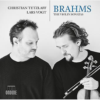 Brahms / Tetzlaff / Vogt - Johannes Brahms: The Violin Sonatas [CD] USA import