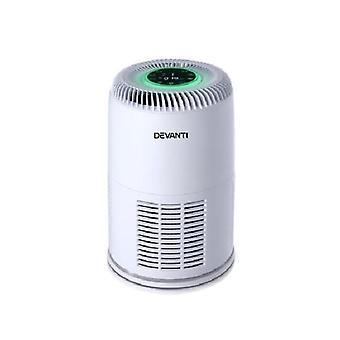 Devanti Air Purifier Hepa Filter Home Freshener Carbon Ioniser