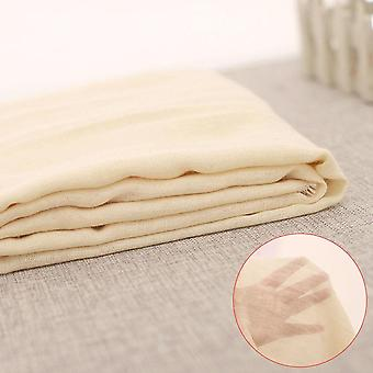 Tissu de fromage de filtre - Gaze natural Breathable Bean Bread Cloth Fabric