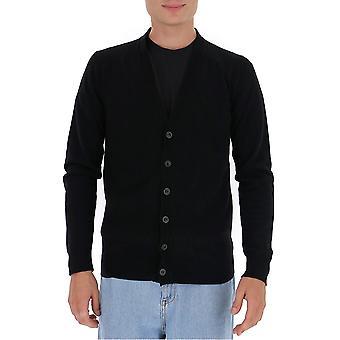 Maison Margiela S30hb0234s17557002f Men's Black Wool Cardigan