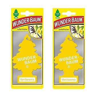 Wunder-Baum Perfumado (Baunilha) 2-Pack
