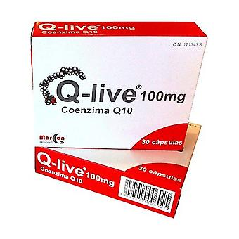 Q-Live Coenzyme Q10 30 capsules of 100mg