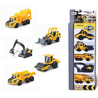 Maisto Volvo Construction 5 Pack of Die Cast Vehicles