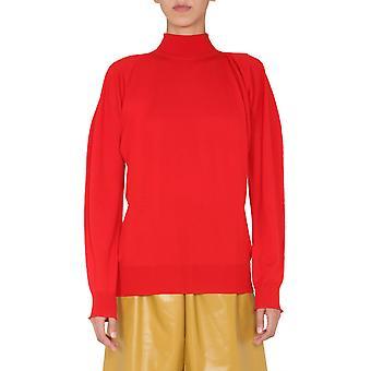 Bottega Veneta 626951vkwi06188 Kvinder's Rød uldtrøje