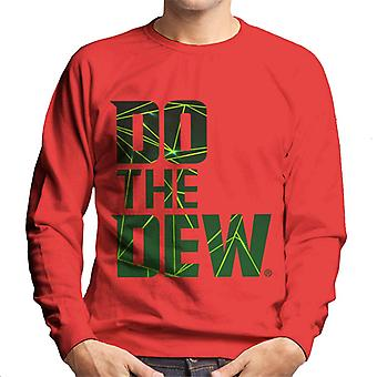 Mountain Dew Do The Dew Laser Men's Sweatshirt