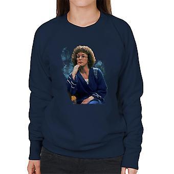 TV Times Anne Kirkbride Deidre Barlow Coronation Street Women's Sweatshirt