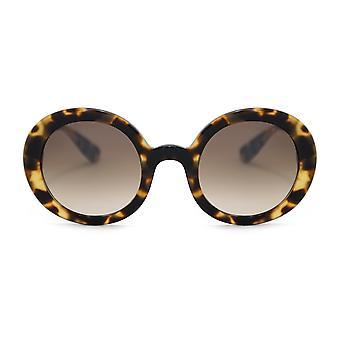 Miu Miu Round Sunglasses SMU06USA 7S0QZ9 48