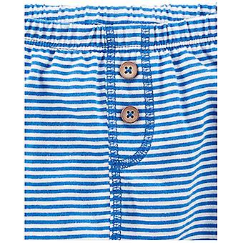 Simple Joys par Carter-apos;s Baby Boys-apos; 4-Pack Pant, Navy/Stripes/Gray, 18 Mois