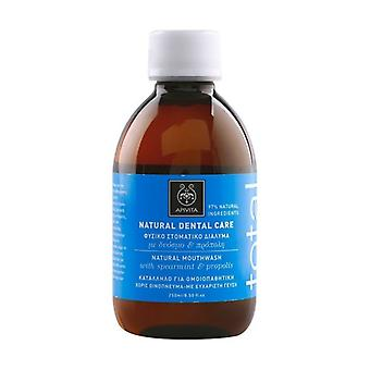 Natural Mouthwash with Spearmint and Propolis 250 ml