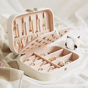 Protable, Multi Function Jewelry Storage Box