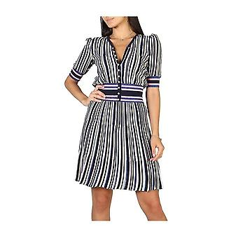 Emporio Armani -BRANDS - Clothing - Dresses - 3Y2A102M13Z0068_149 - Ladies - navy,pink - 38