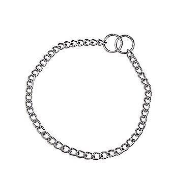 HS Sprenger Chrome Plated Round Link Dog Collar