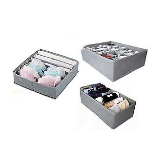 Foldable Storage Divider, Boxes, Drawer Closet Organizers