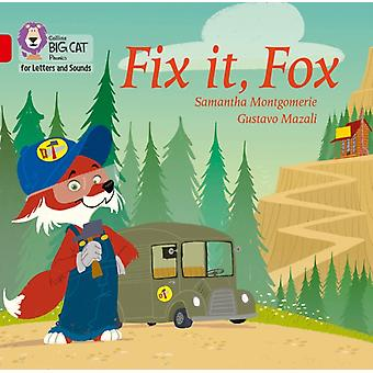Fix it Fox Big Book by Montgomerie & Samantha