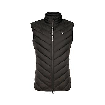 EA7 by Emporio Armani Polyester Black Padded Gilet