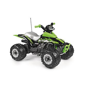 peg perego green corral t-rex 330w 12v quad bike