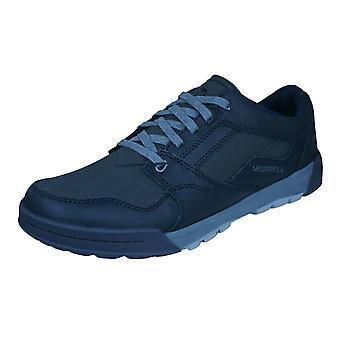 Merrell Berner cambio encaje Mens zapatillas / zapatos - negro