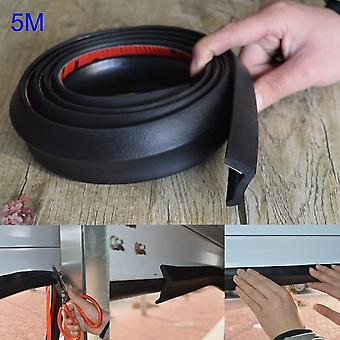5m Garage Door Bottom- Weather Stripping Rubber Seal Strip Replacement Door Bottom Seal M25