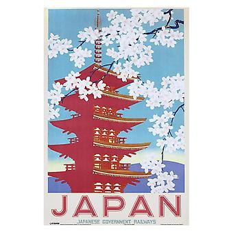 Japan Railways, Maxi Poster - Blossom