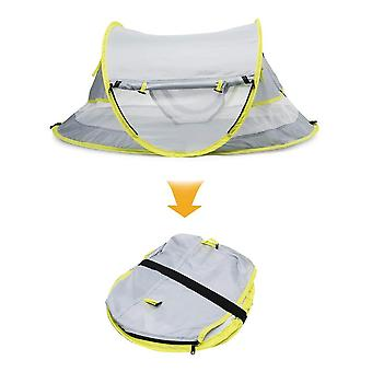 Baby Beach Portable Pop Up Tent, Upf 50+ Sun Shelters Baby Shade With Mosquito