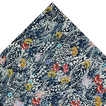 Legături Planet Van Buck Baleare Floral Pocket Square Realizate cu Liberty Fabric