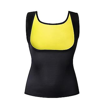 S-6xl Women Fitness Exercise Shapers- Sweat Sleeveless Shirt, Neoprene Clothes