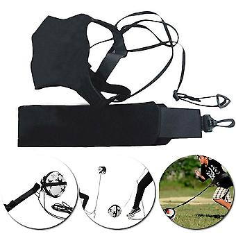 Football Kick Solo Trainer Belt Waist Control Skills Soccer Practice Training