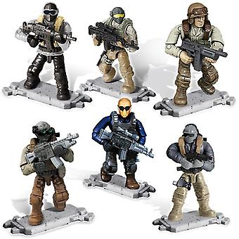 Ww2 Military Army Action Figures Set-battlefield Weapons/soldier
