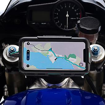 Iphone xs max waterproof tough case strong motorcycle stem mount