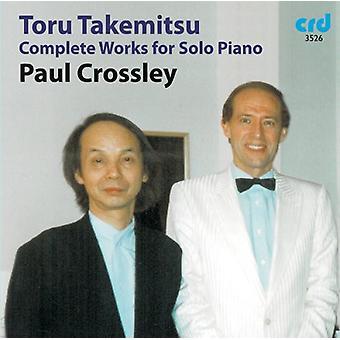 T. Takemitsu - Toru Takemitsu: Værker for Solo klaver [CD] USA import