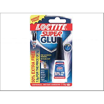 Loctite Super Glue Bottle 5g + 50% Free