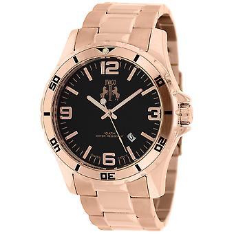 Jivago Men's Ultimate Black Dial Watch - JV6112