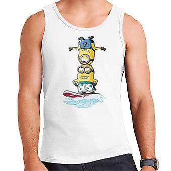 Despicable Me Minions Head Surfing Men's Vest