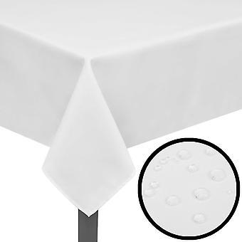 5 pöytäliinaa Valkoinen 250 x 130 cm