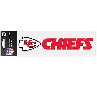 Wincraft tarra 8x25cm-NFL Kansas City Chiefs