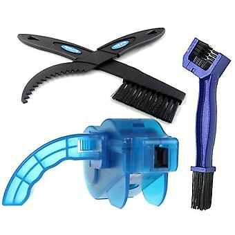 Scrubber Brushes Mountain Bike Wash Tool Set, Cleaning Kit Bicycle Accessories