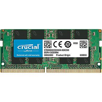 Crucial ct4g4sfs824a 4 gb (ddr4, 2400 mt/s, pc4-19200, single rank x8, sodimm, 260-pin) memory 4 gb