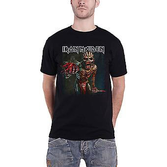 Iron Maiden T Shirt Book of Souls Euro Tour 2016 Eddie Official Mens New Black