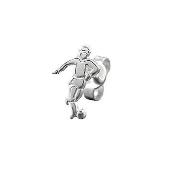 Nasta korvakoru jalkapalloilija hopeaa 925